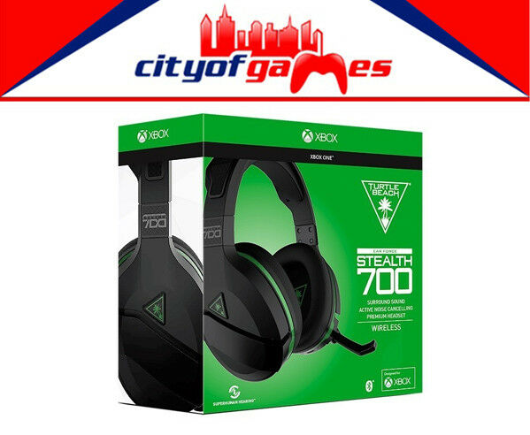 Ear Force Stealth 700X Turtle Beach Headset Xbox One Brand New
