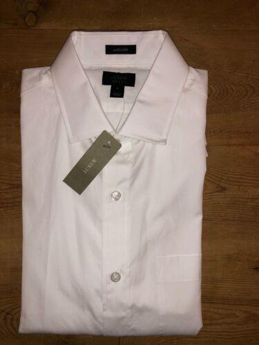 Crew Ludlow spread-collar shirt  in white J originally $79.50