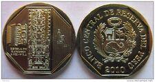 Estela de Raimondi 1 Nuevo Sol 2010 Peru BU Coin