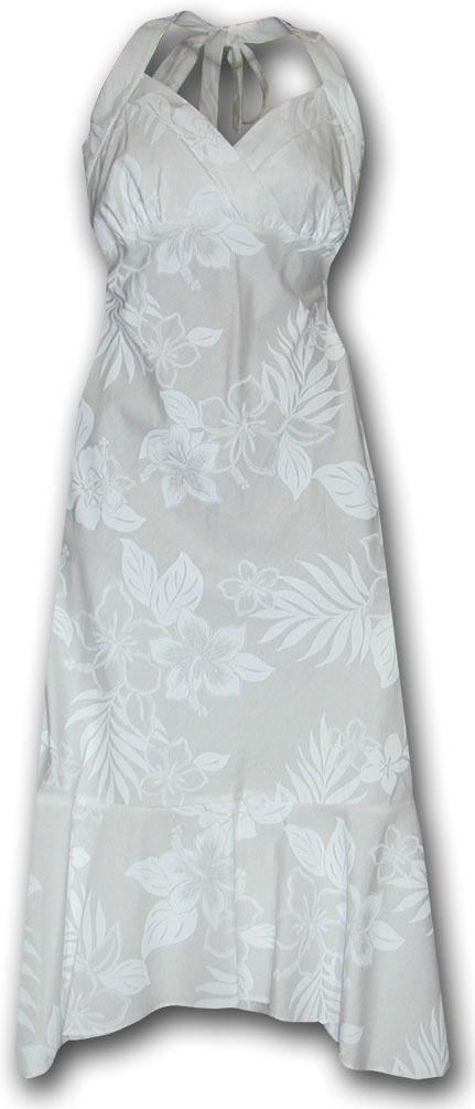 PLA Original Hawaiikleid, Wedding, weiß, S-2XL -NEU-
