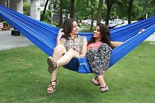 Ohuhu Double Hammock Tree  Two People Person Patio Bed Swing New Nylon Outdoor