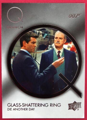 elige tu propio 2019 Upper Deck 007 James Bond Collection Q BRANCH Insertos