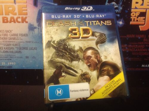 1 of 1 - Clash Of The Titans (Blu-ray, 2011, 2-Disc Set)