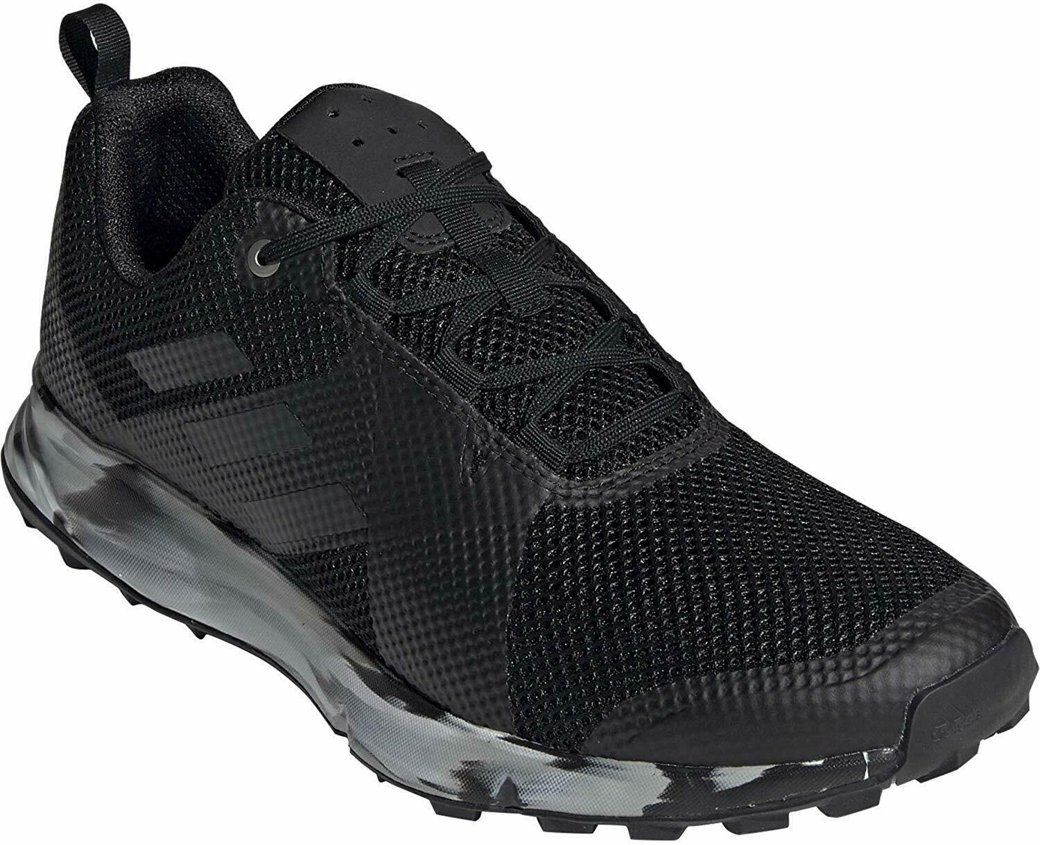 ADIDAS MENS OUTDOOR TERREX TWO SHOES BC0496 BLK WHT
