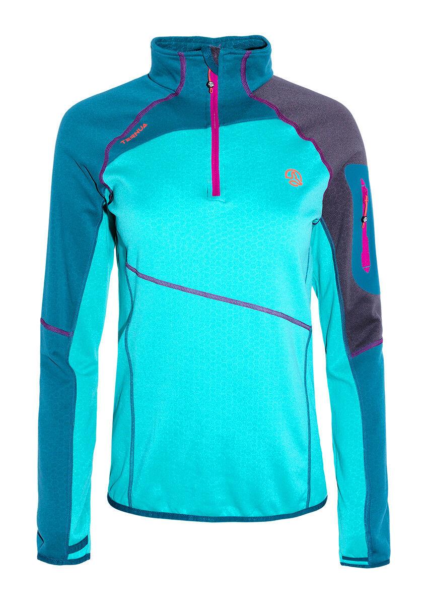 Ternua Krine Fleece Shirt für Frauen daSie - Ski Snowboard Trekking Laufen