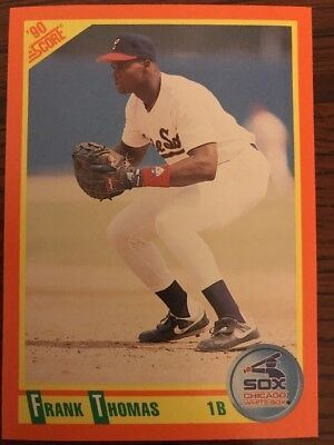 1990 Score Rookie Traded Frank Thomas Chicago White Sox