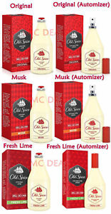 OLD-SPICE-Aftershave-Lotion-Original-Musk-Fresh-Lime-50ml-100ml-150ml