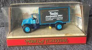 MATCHBOX-MODELS-OF-YESTERYEAR-Y-33-1930-MACK-AC-BEAULIEU-AUTOJUMBLE-1991-BOXED