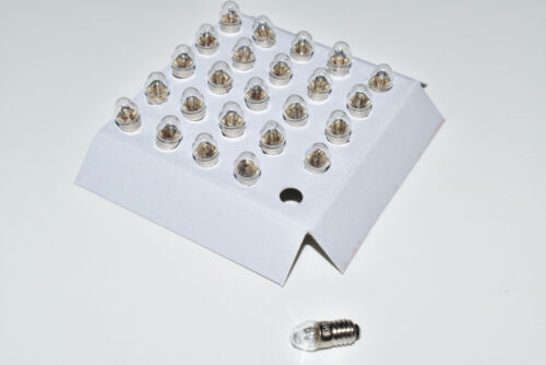 5 Ampoule Märklin 60010//600100 25 Pièces de rechange-Ampoules Lampes Pointue Nouveau e5