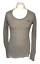 thumbnail 1 - Abercrombie-amp-Fitch-Women-039-s-Casual-T-Shirt-Grey-Long-Sleeve-Large-Stretch