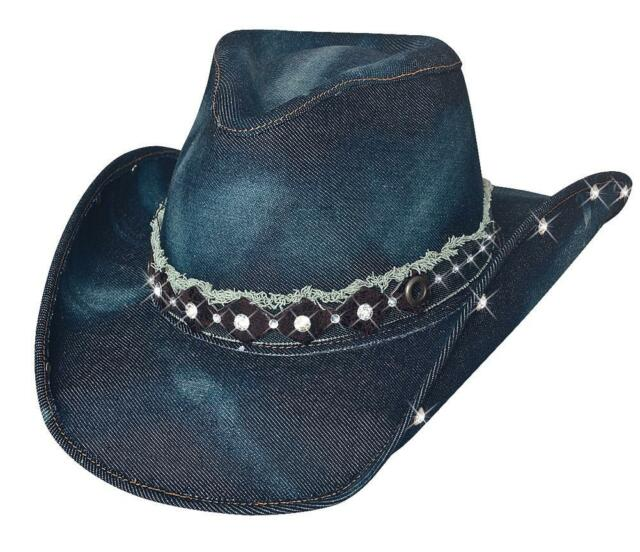 Bullhide Better Than Yesterday Denim Western Hat 2792 S for sale ... 92a8cda32f5