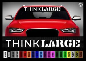 Details About 40 Think Large 4x4 Lifted Truck Off Road Car Decal Sticker Windshield Banner