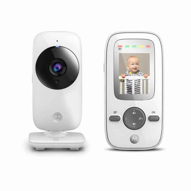 Motorola MBP855CONNECT Portable 5-Inch Color Screen Video Baby Monitor with W...