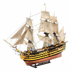 Revell-Almirante-Nelson-buque-insignia-HMS-Victory-batalla-de-Trafalgar-Conjunto-de-regalo