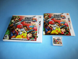 Super-Smash-Bros-Brothers-Nintendo-3DS-XL-2DS-Game-w-Case-amp-Manual