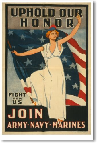 Uphold Our Honor NEW Vintage Reprint POSTER