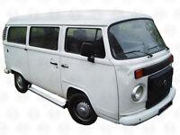 Deluxe Aluminium Side Step 4 VWT2 Brazilian Bus complete fitt kit no drill C9047