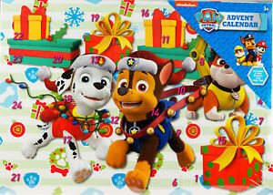 Paw Patrol Christmas.Details About Paw Patrol Christmas Toy Stationery Treats Gift Advent Calendar