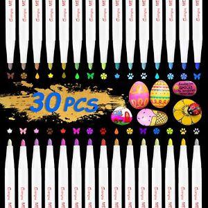 30-Colores-Metalico-Acrylstifte-Para-Piedras-Resistente-Al-Agua