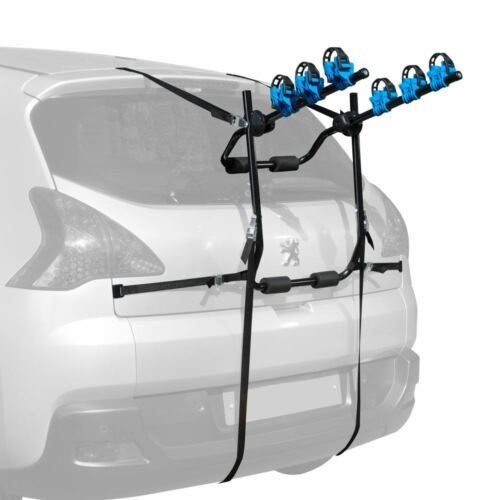 04-15 Rear 3 Bike High Carrier Car Rack To Fit Volkswagen Caddy Maxi