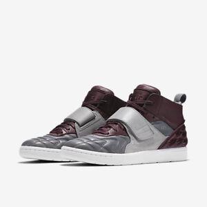 cecae1a16 Nike Tiempo Vetta QS Size 8 NEW 845045 006 Night Maroon Wolf Grey ...