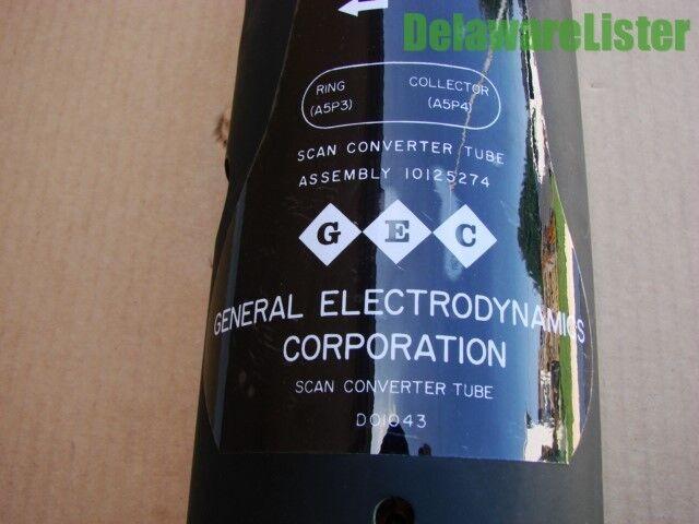 Gec General Electrodynamics Co. Scan Scan Co. Konverter Tube P/n Do1043 1430 00 013 89445b