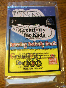 Details about Wendy's Creativity for Kids Faber Castell 3D Drawing Activity  Book Kids Toy NIP
