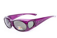 Figuretta Gafas de sol Gafas escudo Púrpura Publicidad en TV Schutz UV Gafas