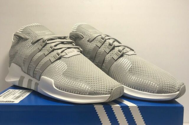 on sale 8453c 20bd0 Adidas Mens Size 12 Originals EQT Support ADV PK Grey White Running Shoes