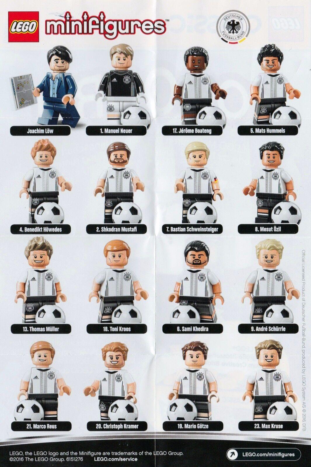 LEGO® MINIFIGUREN MINIFIGUREN MINIFIGUREN  71014 DfB DIE MANNSCHAFT - Alle 16 Figuren Komplett Neu Top 5ebbf5