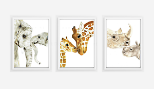 Mother And Baby Animal Print Set