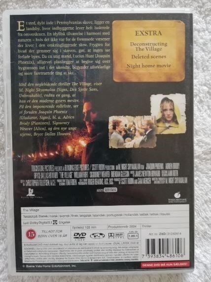 The Village , DVD, gyser