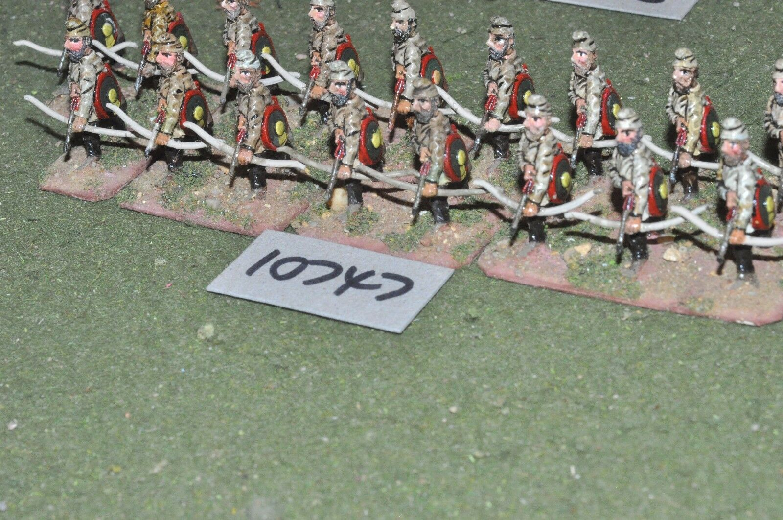 25mm roman era   roman - archers 17 figs - inf (10747)