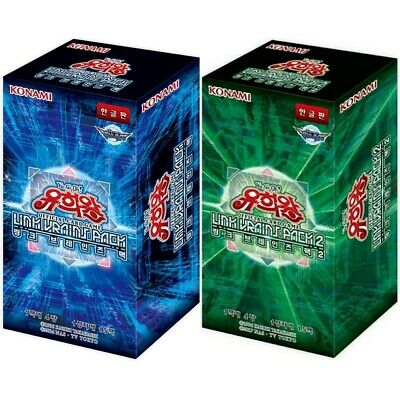 """Yu-Gi-Oh Cards /""""Link Vrains Pack 1 /& 2/"""" 2 Booster Boxes 120 Cards Korean Version"""