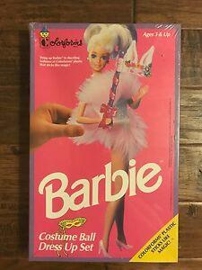 "1991 Colorforms ""BARBIE"" (COSTUME BALL DRESS UP SET), #741, NEW! SEALED! RARE!"
