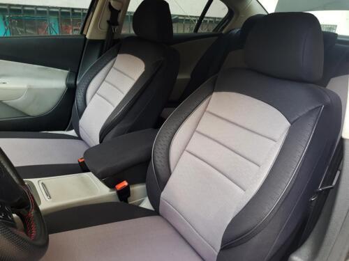 Fundas para asientos ya referencias para VW Amarok negro-gris v760124 delanteros