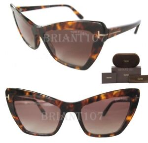 1e24ec5caf32c New Womens Sunglasses Valesca-02 Tom Ford TF555 52F Havana Brown+ ...