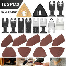 102x Oscillating Saw Blades For Bosch Ridgid Dewalt Makita Ryobi Multi Tool
