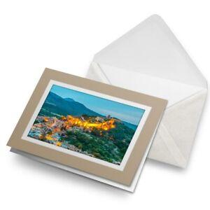 Greetings-Card-Biege-Mallorca-Spain-Apdepera-Town-3045