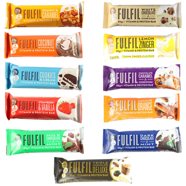 Fulfil Vitamin & Protein Bar - 55g (All Flavours ) £2.10 Per Bar