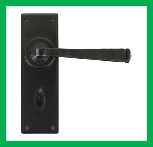 From The Anvil Black Avon Lever On Backplate Handle Sets 33823 33824 33825 33826
