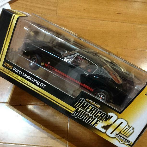 1965 Ford Mustang GT American Muscle 20th DIECAST Super Rare 1000 Limited F S