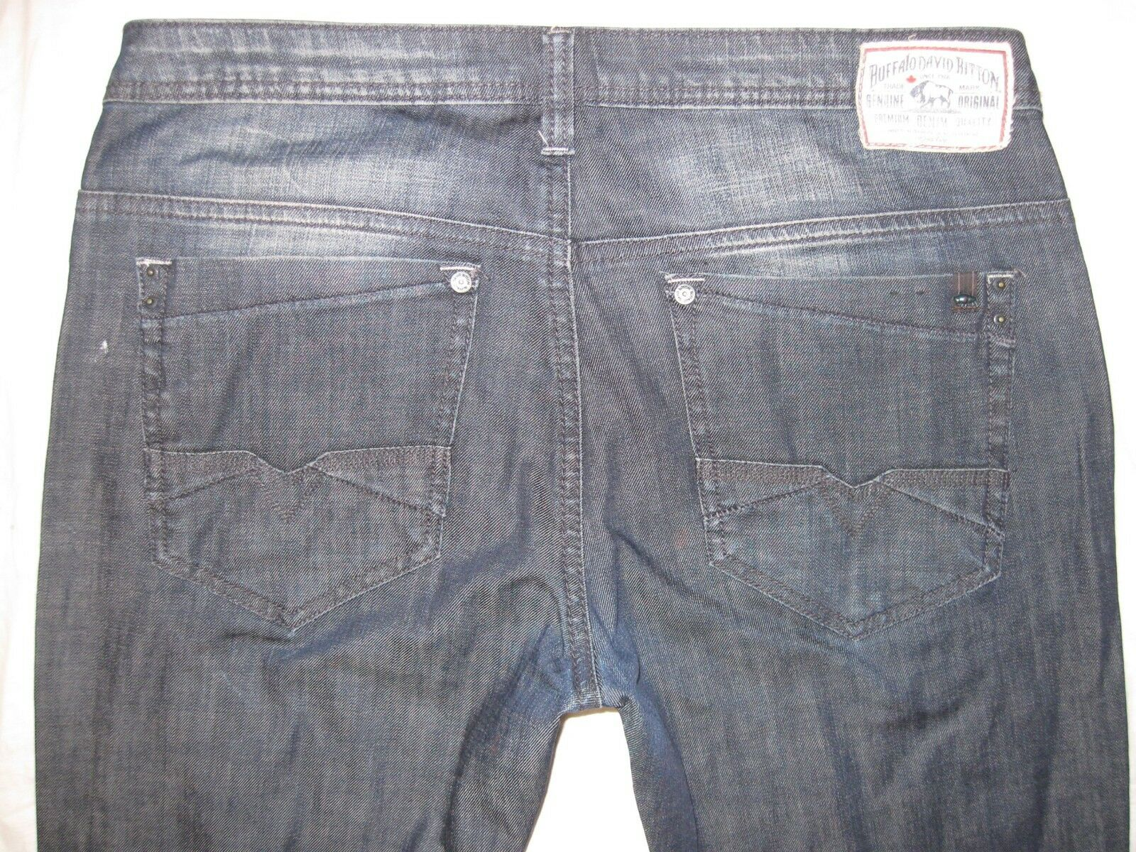 Buffalo by David Bitton Lucas X Taggd 36 36 Actually 38 1 4 X 35 1 4 Men's Jeans