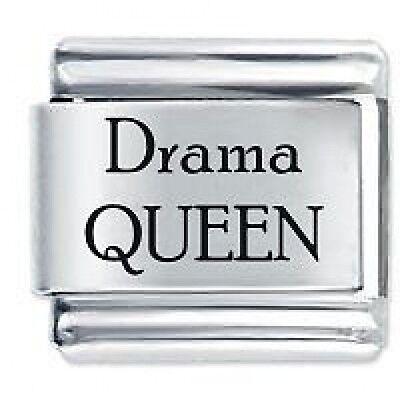 DRAMA QUEEN - Daisy Charm Fits Genuine Nomination Classic Italian Charm Bracelet