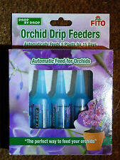 FITO ORCHID DRIP FEEDERS DROP BY DROP PACK OF 5 X 32ML TOTAL 160ML FOR HOLIDAYS