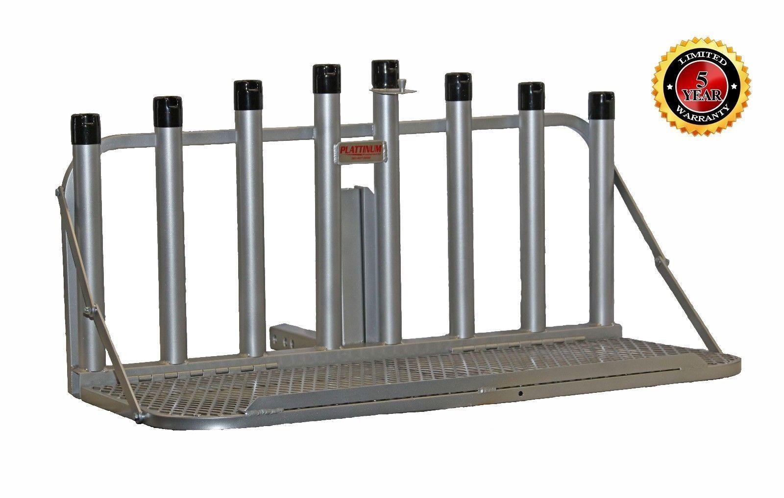 Plattinum, Fishing Rod Holder Cooler Holder With Fold Down  Platform Big Coolers  fast delivery