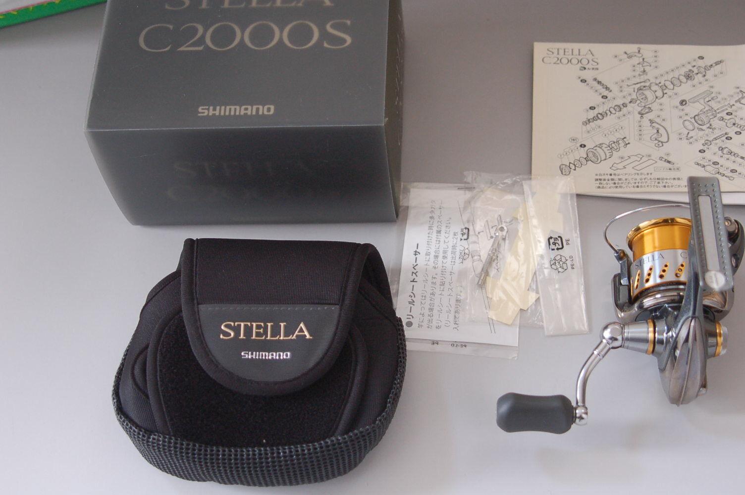 2007 SHIMANO STELLA C2000S In Box Very good
