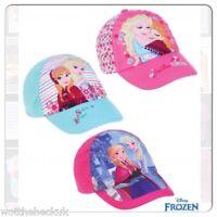 Official Disney Frozen Adjustable Baseball Cap Sun Hat Anna Elsa Pink Princess