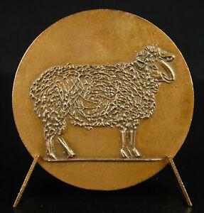Medal-Auricoste-Sc-Sheep-Shepherd-Sheap-Belgian-Dog-Chien-de-Berger-1971