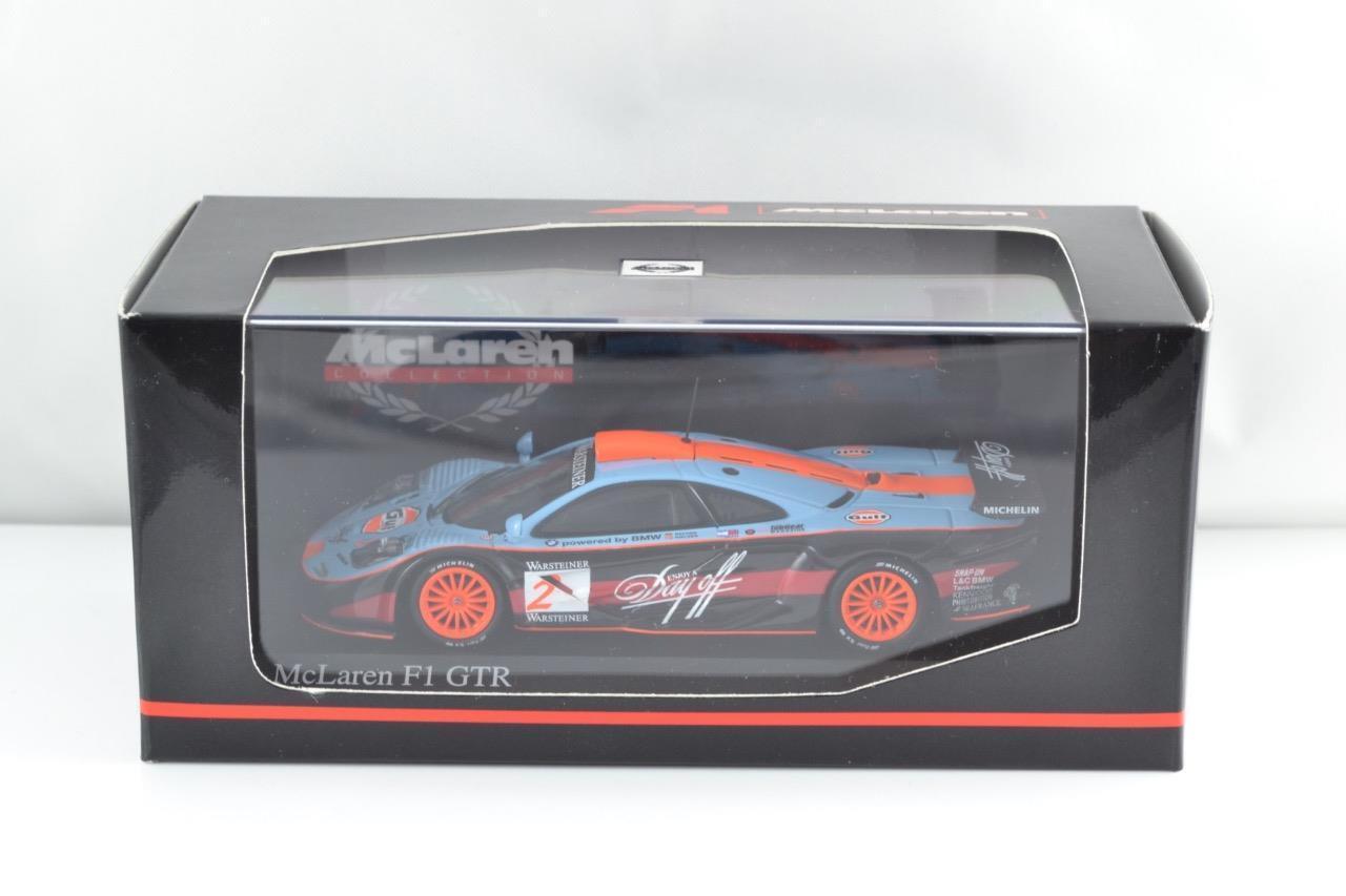 MINICHAMPS 530174302 McLaren F1 GTR Nielsen Bscher Nurburgring 1 43 En parfait état, dans sa boîte Entièrement neuf dans sa boîte